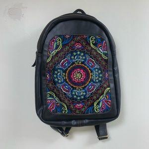 Boho hippie festival backpack